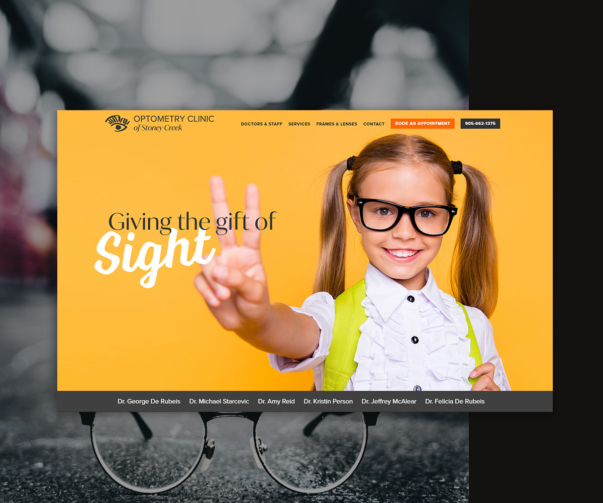 Optometry Clinic of Stoney Creek Website